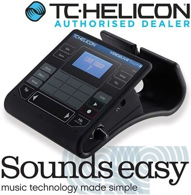 TC Helicon VOICELIVE TOUCH 2 Vocal Harmonizer & Effects Looper Processor