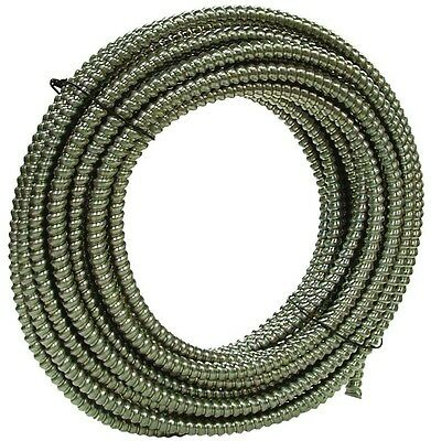 100 ft. 3/4 in. Reduced Wall Aluminum Flexible Metal Conduit Lightweight in Gray