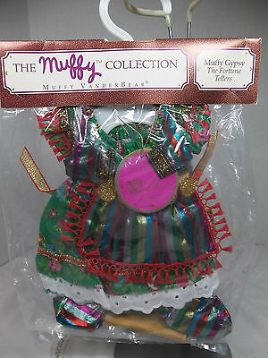 "1991 Muffy Vanderbear GYPSY THE FORTUNE TELLERS OUTFIT For 7"" Bear - MIP"