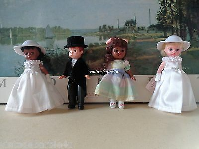 Madame Alexander Doll Lot Memories of a Lifetime Bride Wedding Cake Toppers