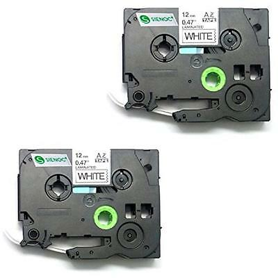 Brodex Replacement Label Tape Compatible With Brother Tz-231 Tz231 Tze231, 2 Pac