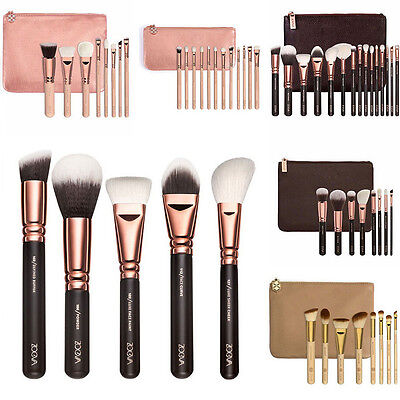 ZOEVA Rose Golden Makeup Cosmetic Complete Eye Set Power Brushes with Package