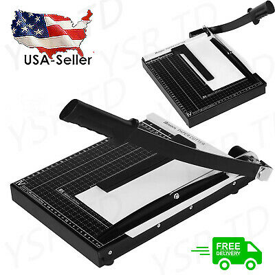 18in A4 Paper Cutter Trimmer Machine Scrap Booking Guillotine Metal Base