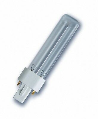 UV-C UVC Philips TUV PL-S 11W 2 Pin  / OSRAM Puritec HNS S 11W G23 2pin