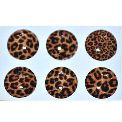Leopard Home Button Sticker for iPhone 4g/4s Ipad2 Ipod + Screen Protector SH