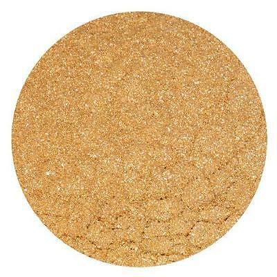 GOLD Edible Glitter Sparkle Rainbow Dust Cake Decorating