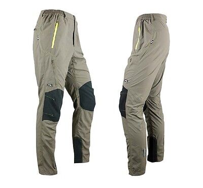 Mens Cycling Windproof Pants Bike/Bicycle Casual Outdoor Sports Trousers 4014