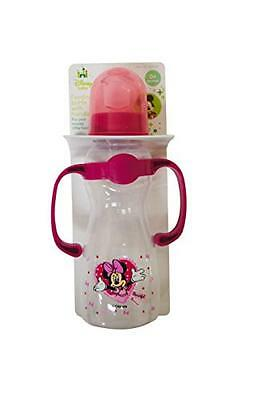 Minnie Mouse Baby Bottle With Handles, New, Free Shipping