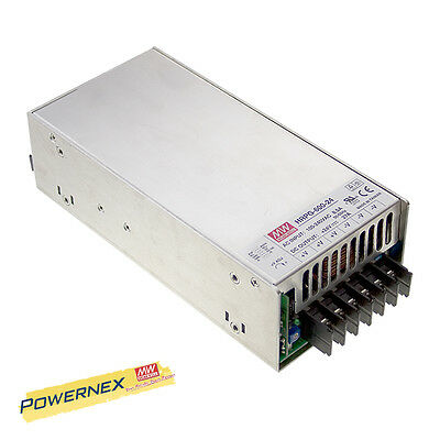 MEAN WELL [PowerNex] NEW HRPG-600-15 15V 43A 645W Power Supply PFC