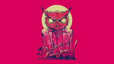 "YX01507 Hotline Miami - Hot Action Video Game 25""x14"" Poster"