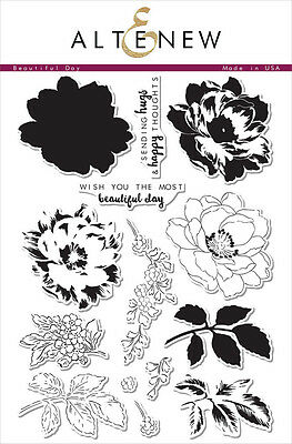 "Altenew - Photopolymer Clear Stamps - 6""x8"" Beautiful Day"
