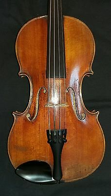 Old French Violin, Full Size 4/4, circa 1880