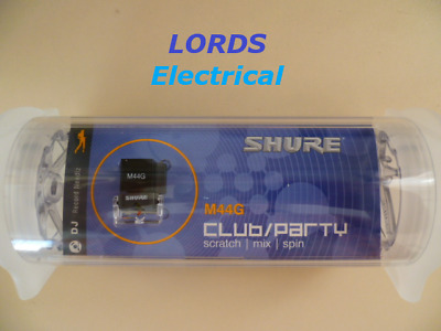 ORIGINAL Shure M44G  Record Cartridge & Stylus DJ Club/Party NEW IN PACKAGING