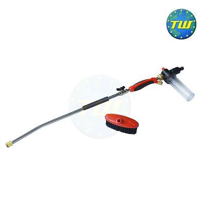 Amtech Pressure Washing Cleaning Lance Ideal for Standard Garden Hose Pipe S5537