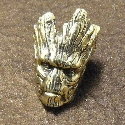 I Am Groot Collectible Bead Paracord Lanyard Beads Bracelet Hand-Cast Metal