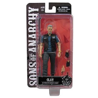 """SONS OF ANARCHY Clay Morrow 6"""" Action Figure By Mezco Free P&P NEW"""