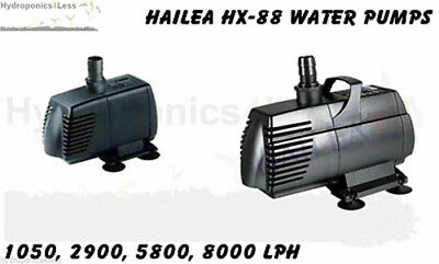 Hailea hx 8890 water pump pond pumps fountain pump water for Hydroponics in koi pond