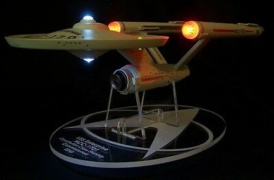 acrylic display stand for Diamond Select Star Trek Enterprise NCC-1701 variants