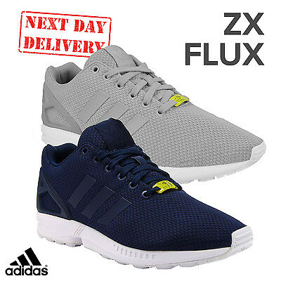 82b7d6990 adidas ZX Flux Mens Fashion Trainers Running Retro Torsion Casual Shoes UK  Size