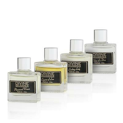 Divine Decadence 4 Miniature Parfum Fragrances For Her Gift Box 4