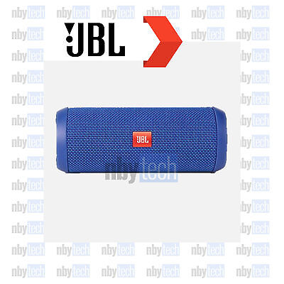 JBL Flip 3 Splashproof Portable Bluetooth Speaker Blue