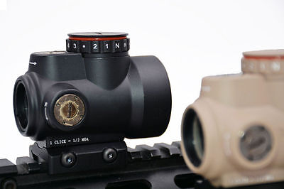 New Style 2.0 MOA Reflex Style 1X25 MRO Red Dot Sight With High/Low QD Mount