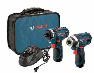 BOSCH CLPK27-120 12V Max Combo Kit PS21 & PS41,  (2) 2.0Ah Batteries
