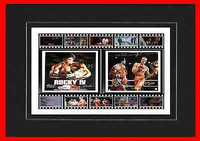 Rocky Iv Movie Mounted Display
