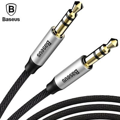 3.5mm Jack Male to Male Car Aux Auxiliary Cord Stereo Audio Cable for Phone iPod