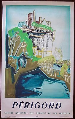 Perigord - Original 1948 French Travel Poster - Mac'avoy Beautiful Artwork!!