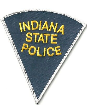 Indiana State Police - Shoulder Iron On Patch