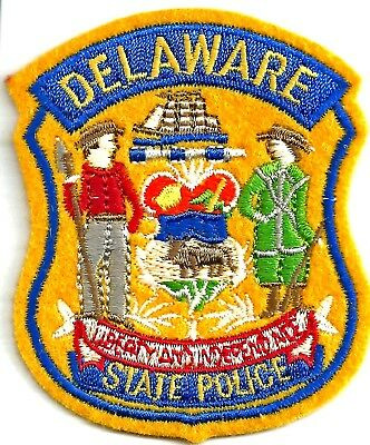 Delaware State Police - Crest Iron On Patch