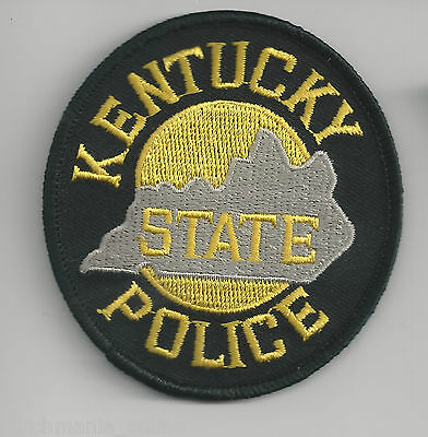 KENTUCKY STATE POLICE - POCKET/HAT SIZE - IRON or SEW-ON PATCH