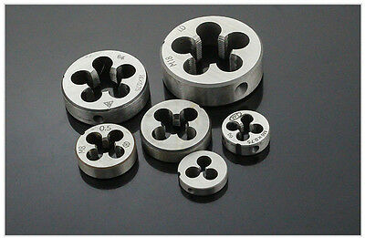 New Metric HSS Right Hand Die Choose Size From M2 to M22