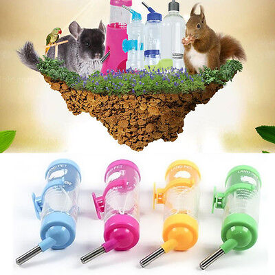 125ML Rabbit Dringking  Small Animal Dispenser Hamster Parrot Pet Water Bottle