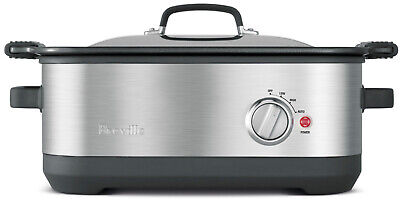 New Breville Ikon Flavour maker Slow Cooker With Searing Pan BSC560 1Y Warranty