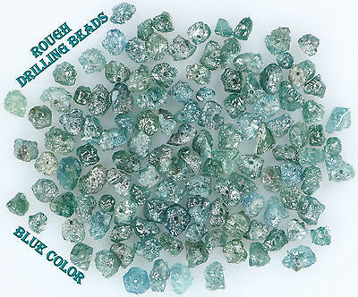 Natural Loose Rough Diamond Drilling Uncut Blue 1.50 to 2.50 MM 5.00 Cts Lot N4
