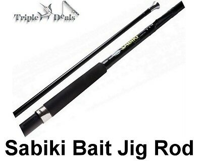 New 7ft Rovex Sabiki Bait Jig Rod - 2pce Specialist Bait Jigging Fishing Rod