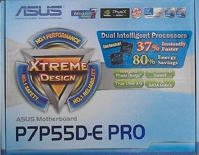 Zubehör Asus P7P55D-E PRO manual CD DVD s-ata3 Kabel i/o shield NEU io cable xwx
