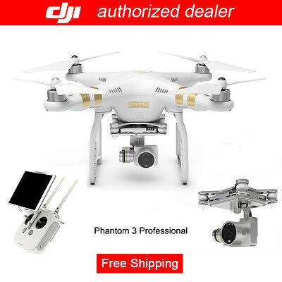 DJI Phantom 3 Professional RC Drone QuadCopter with 4k Camera, Free Shipping