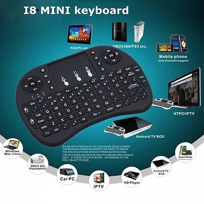 i8+ 2.4GHz Wireless keyboard Air Mouse Remote For Android Smart TV BOX MXQ MX3