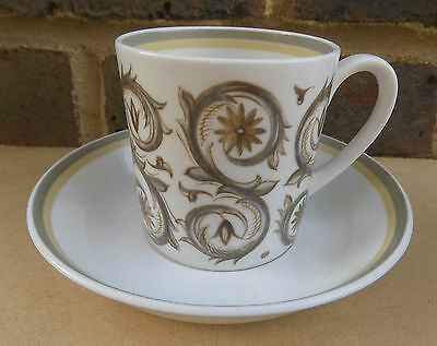 SUSIE COOPER Venetia Coffee Can and Saucer