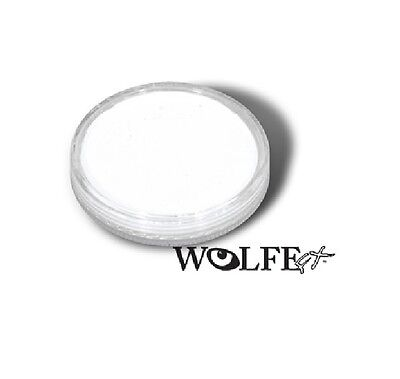 Wolfe FX 30g Pot Essential White Professional Face and Body Paint -Make up Party
