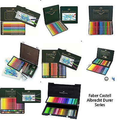 Faber-Castell Albrecht Durer Watercolour Pencil 12, 24, 36, 60, 72, 120 Colors