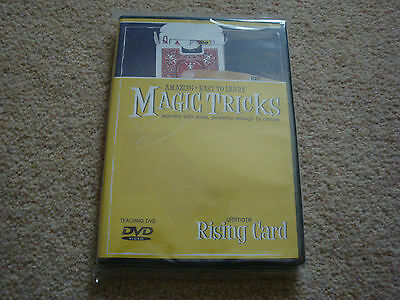 Amazing Easy To Learn Magic Tricks Ultimate Rising Card Dvd With Gimmick