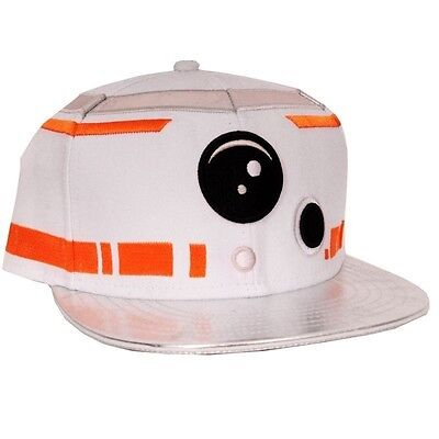 Star Wars Episode 7 - The Force Awakens - BB-8 Astromech Droid Snapback Cap whit