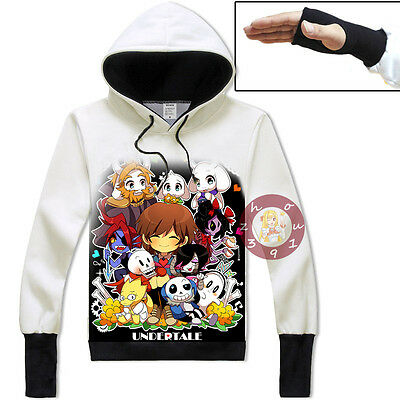 Anime Undertale Sans/Papyrus Pullover Jacket Cosplay Hoodie Unisex Coat#31-XC25