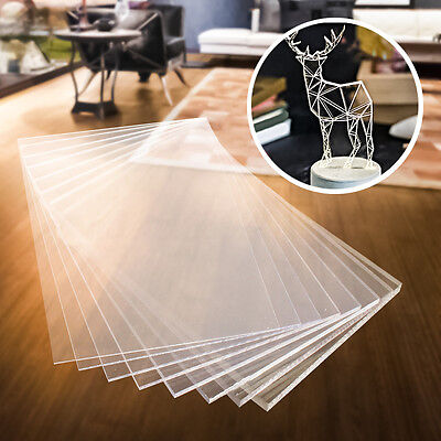 Clear Polycarbonate Sheet Greenhouse Shed Solid Bendable Unbreakable Lexan Panel