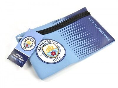 Manchester City FC fondu crayon bleu design cas ballon officiel