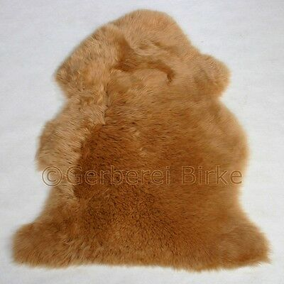 Sheepskin Sheep Skin colored light brown Umbra I washable from the Tannery